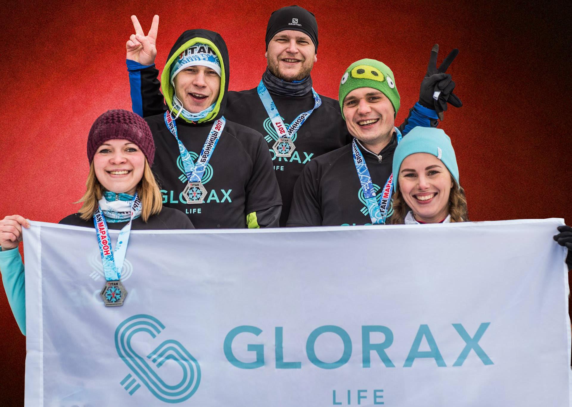 Glorax Life - участник забега Titan
